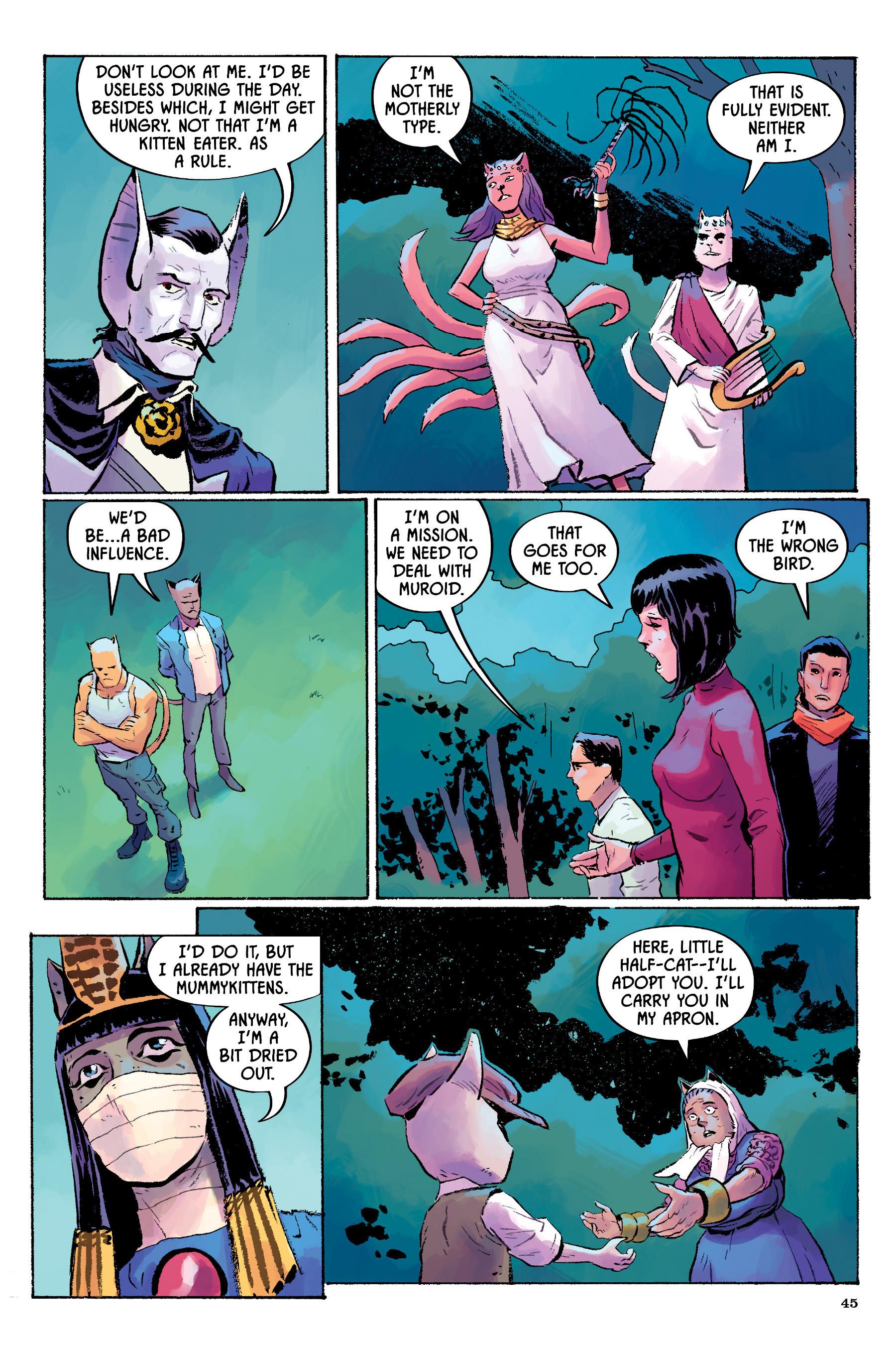 Read online Angel Catbird comic -  Issue # TPB 2 - 46