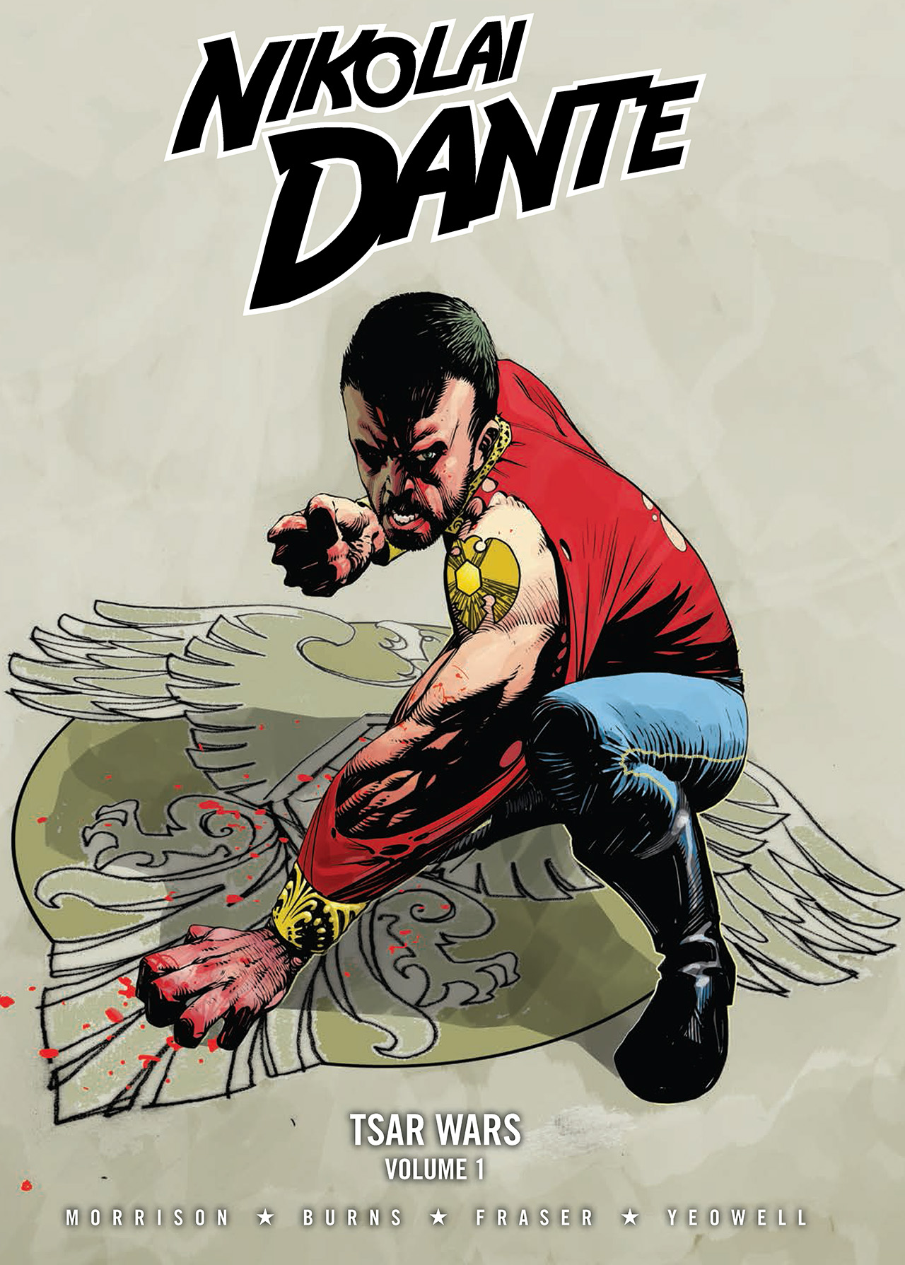 Read online Nikolai Dante comic -  Issue # TPB 4 - 1