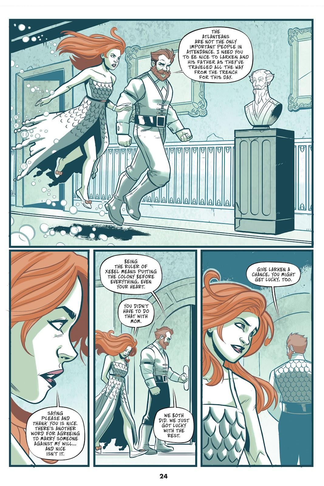 Read online Mera: Tidebreaker comic -  Issue # TPB (Part 1) - 24
