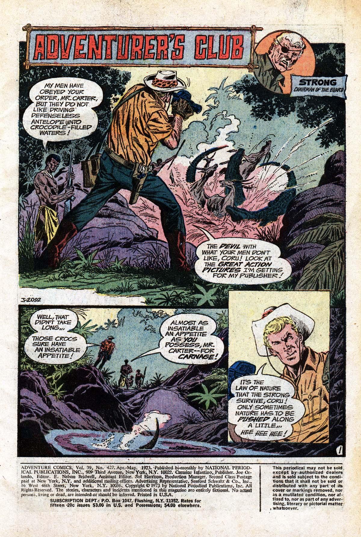 Read online Adventure Comics (1938) comic -  Issue #427 - 3