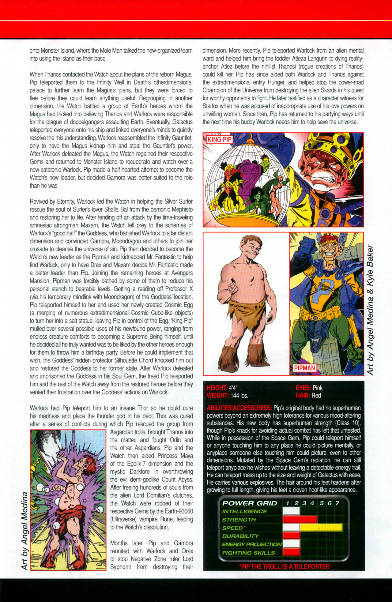 Read online All-New Official Handbook of the Marvel Universe A to Z: Update comic -  Issue #2 - 47