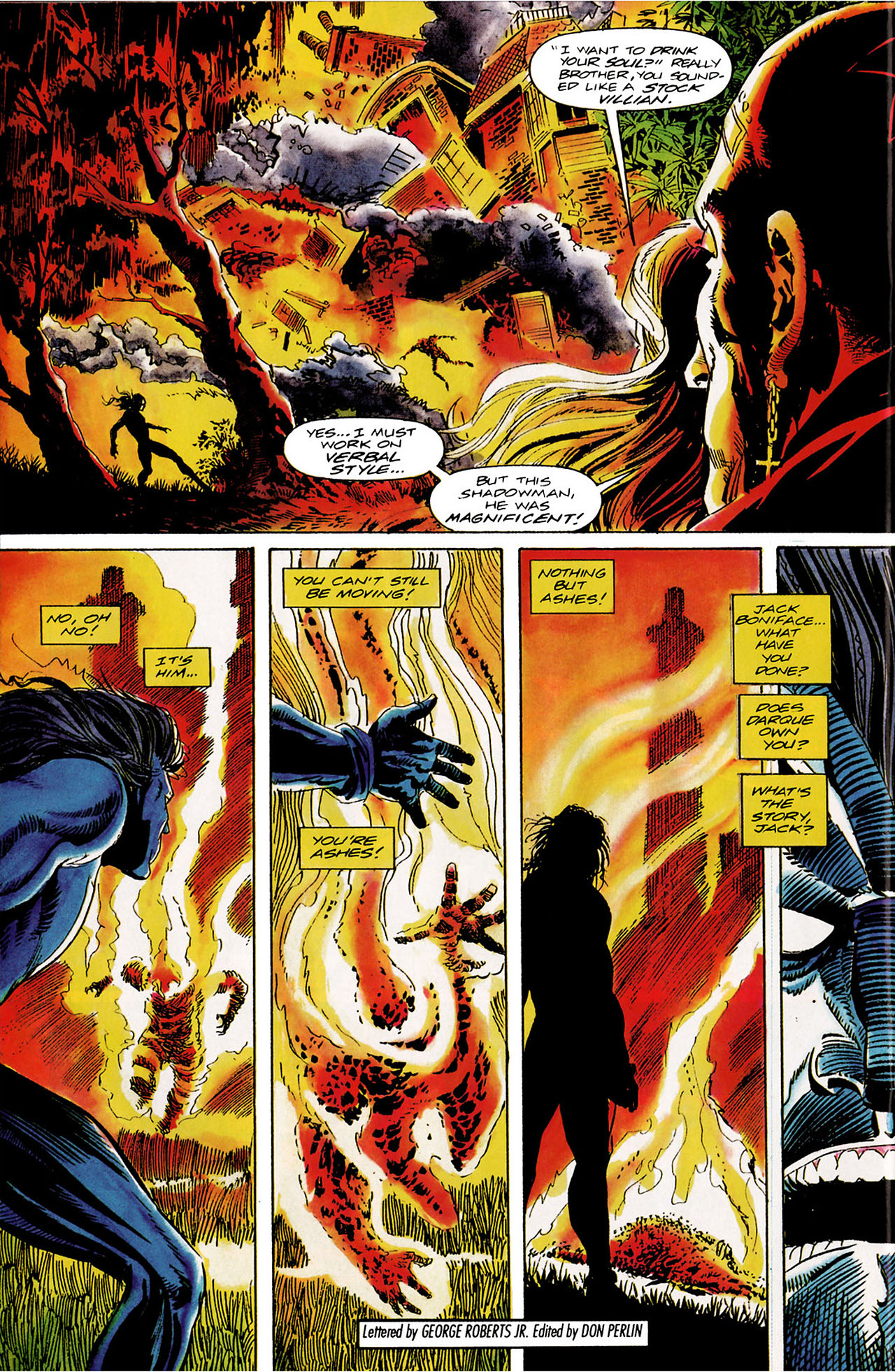 Read online Shadowman (1992) comic -  Issue #10 - 22