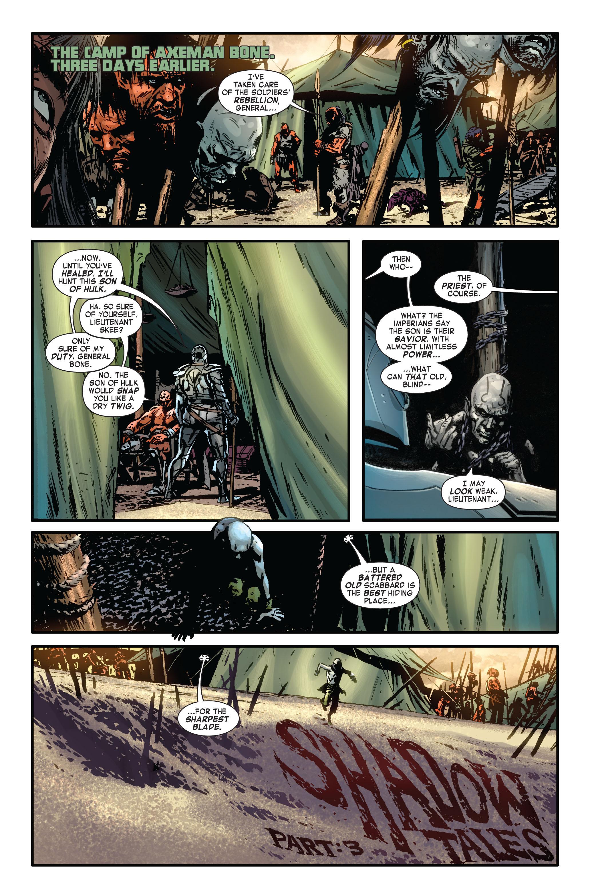 Read online Skaar: Son of Hulk comic -  Issue #4 - 16