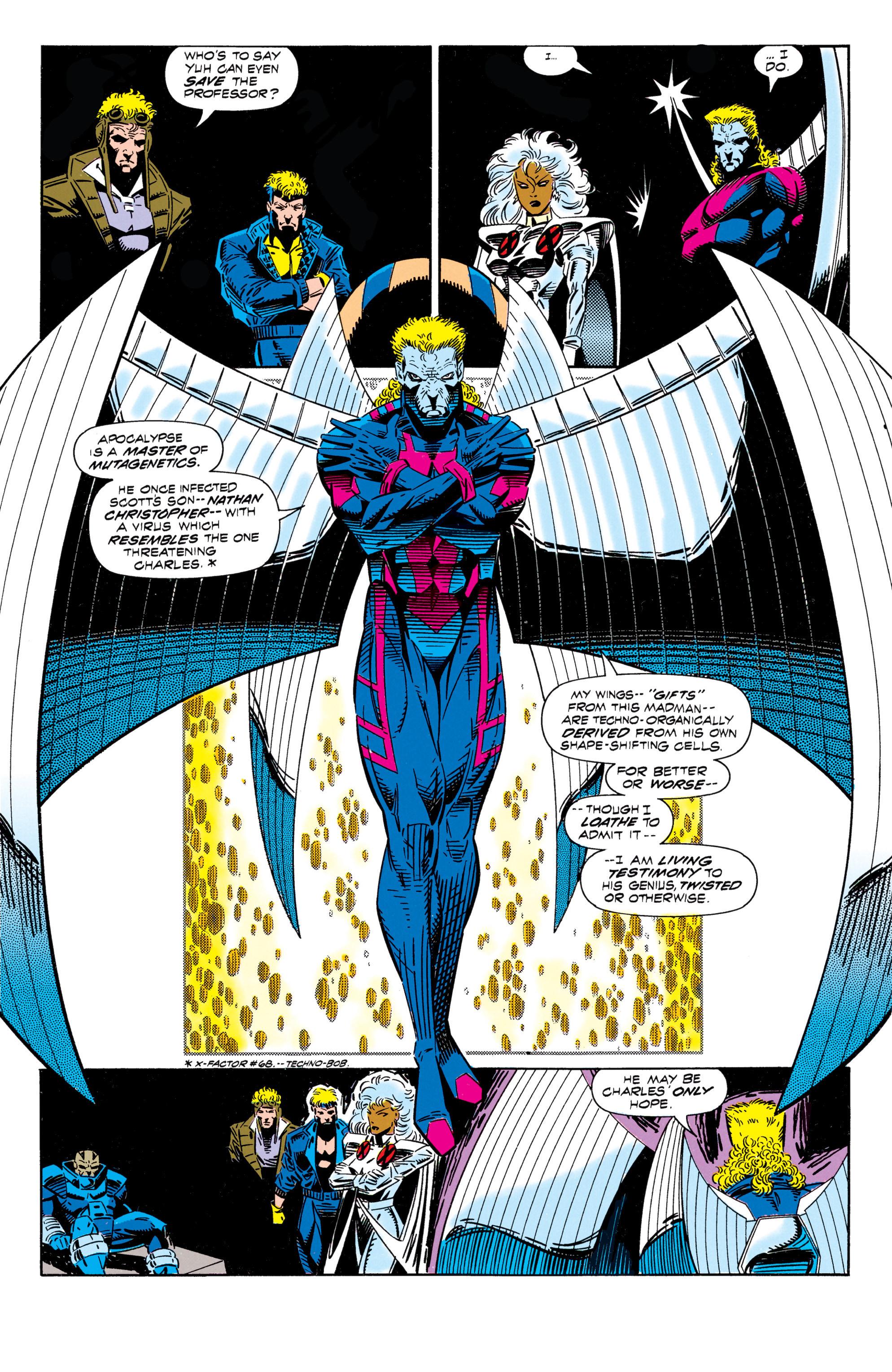 Read online Uncanny X-Men (1963) comic -  Issue #296 - 13