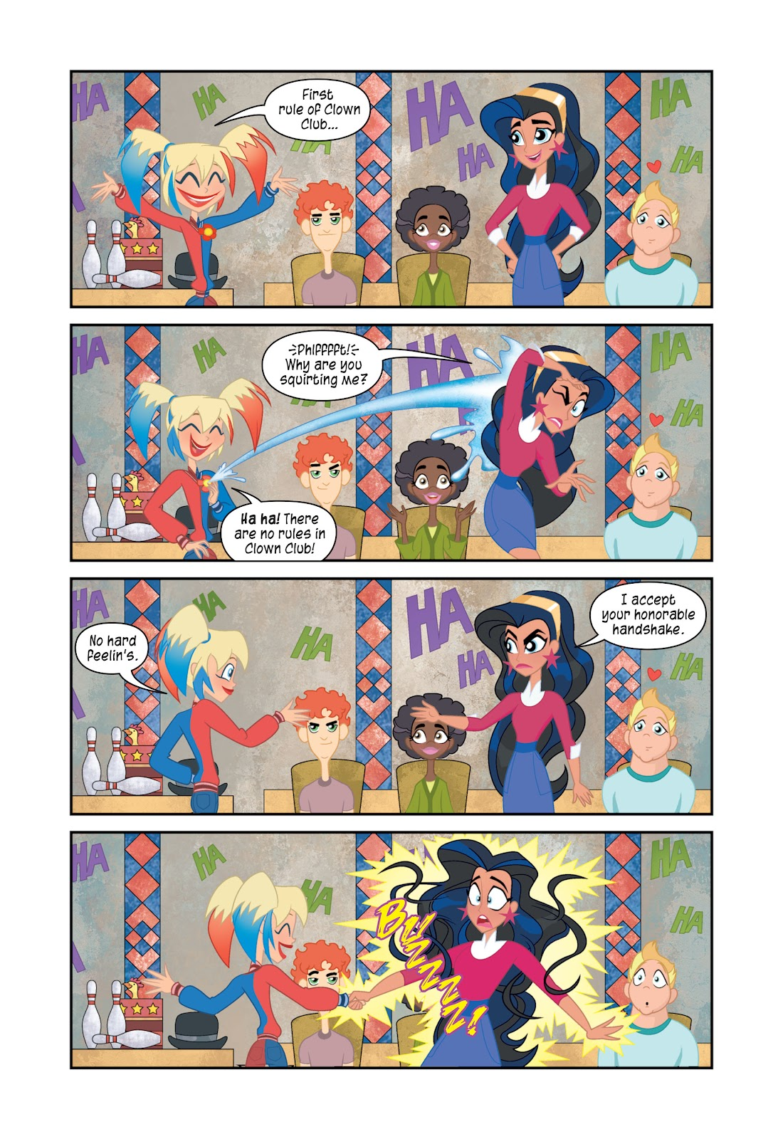 Read online DC Super Hero Girls: At Metropolis High comic -  Issue # TPB - 59