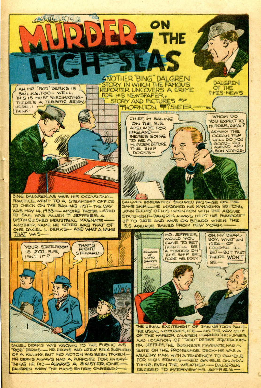 Read online Shadow Comics comic -  Issue #51 - 46