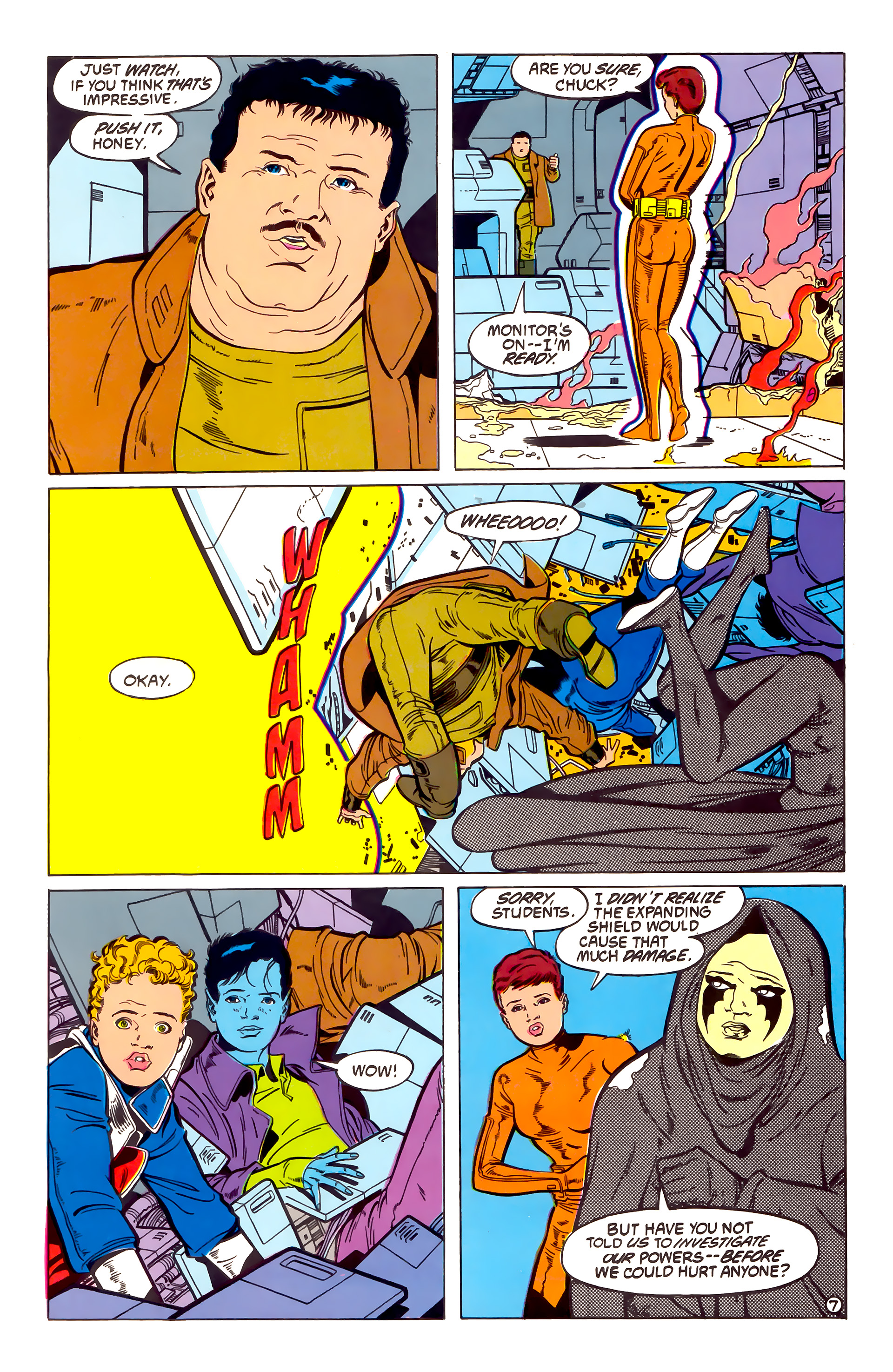Legion of Super-Heroes (1984) 54 Page 7