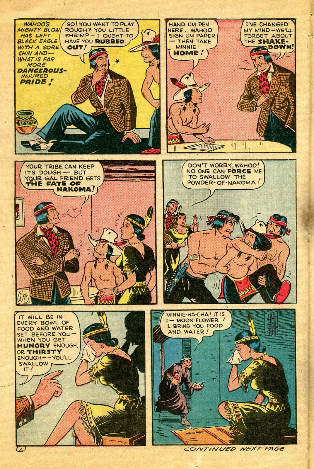 Read online Famous Funnies comic -  Issue #122 - 36