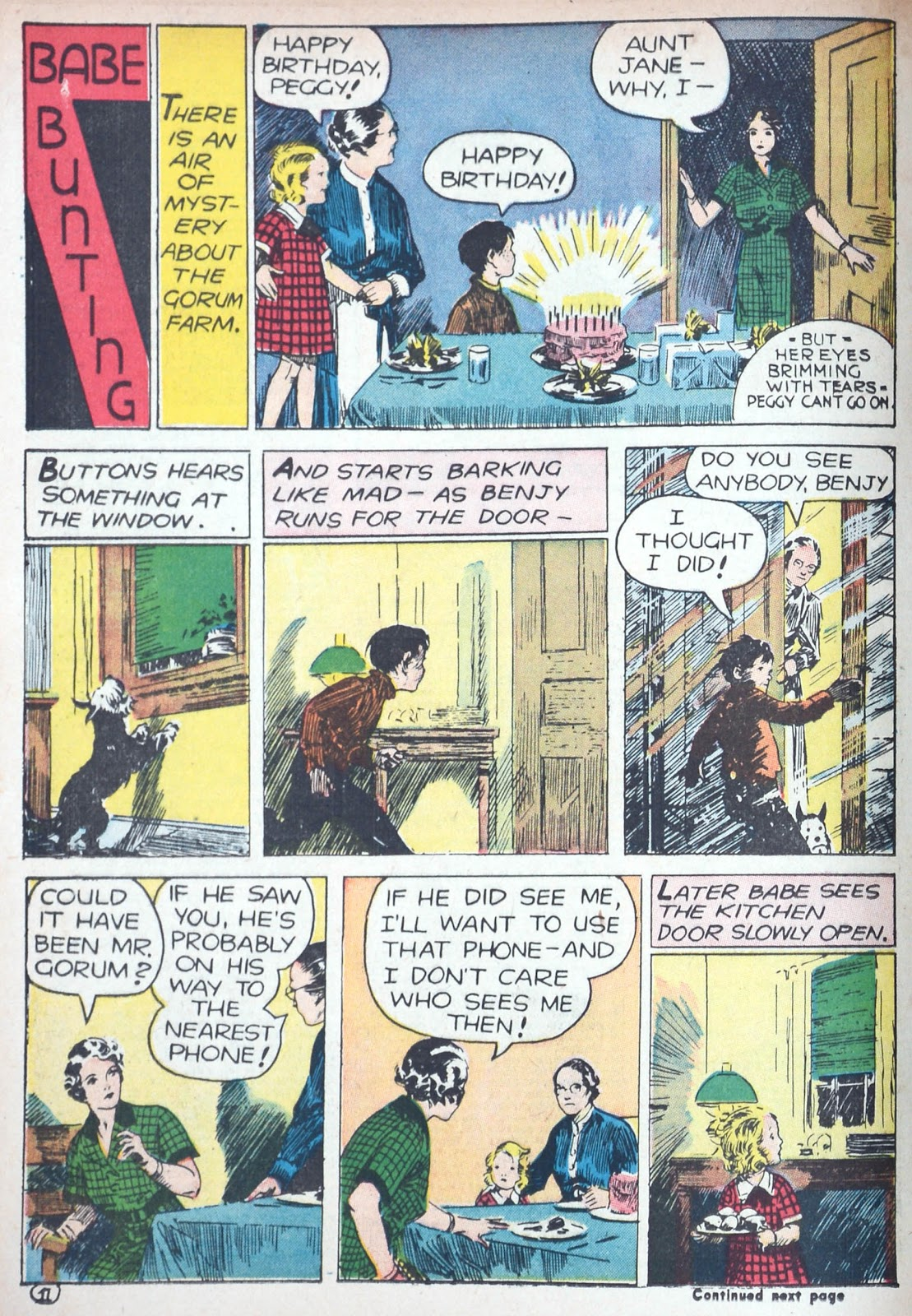 Read online Famous Funnies comic -  Issue #85 - 35