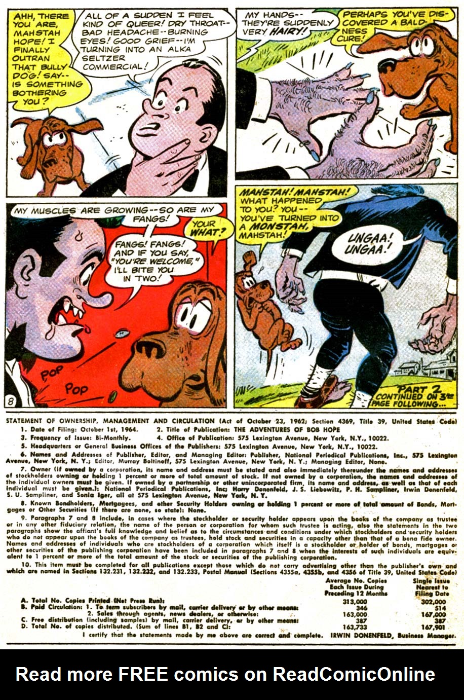 The Adventures of Bob Hope issue 92 - Page 10