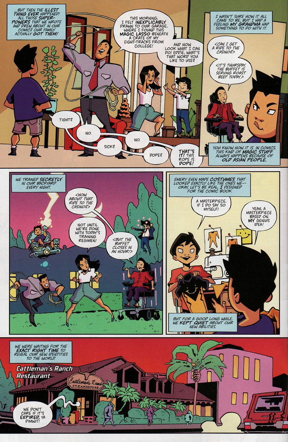 Read online Free Comic Book Day 2017 comic -  Issue # Fresh Off The Boat - 4