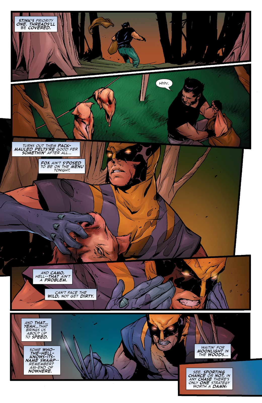 Wolverine: Dangerous Games issue Full - Page 22