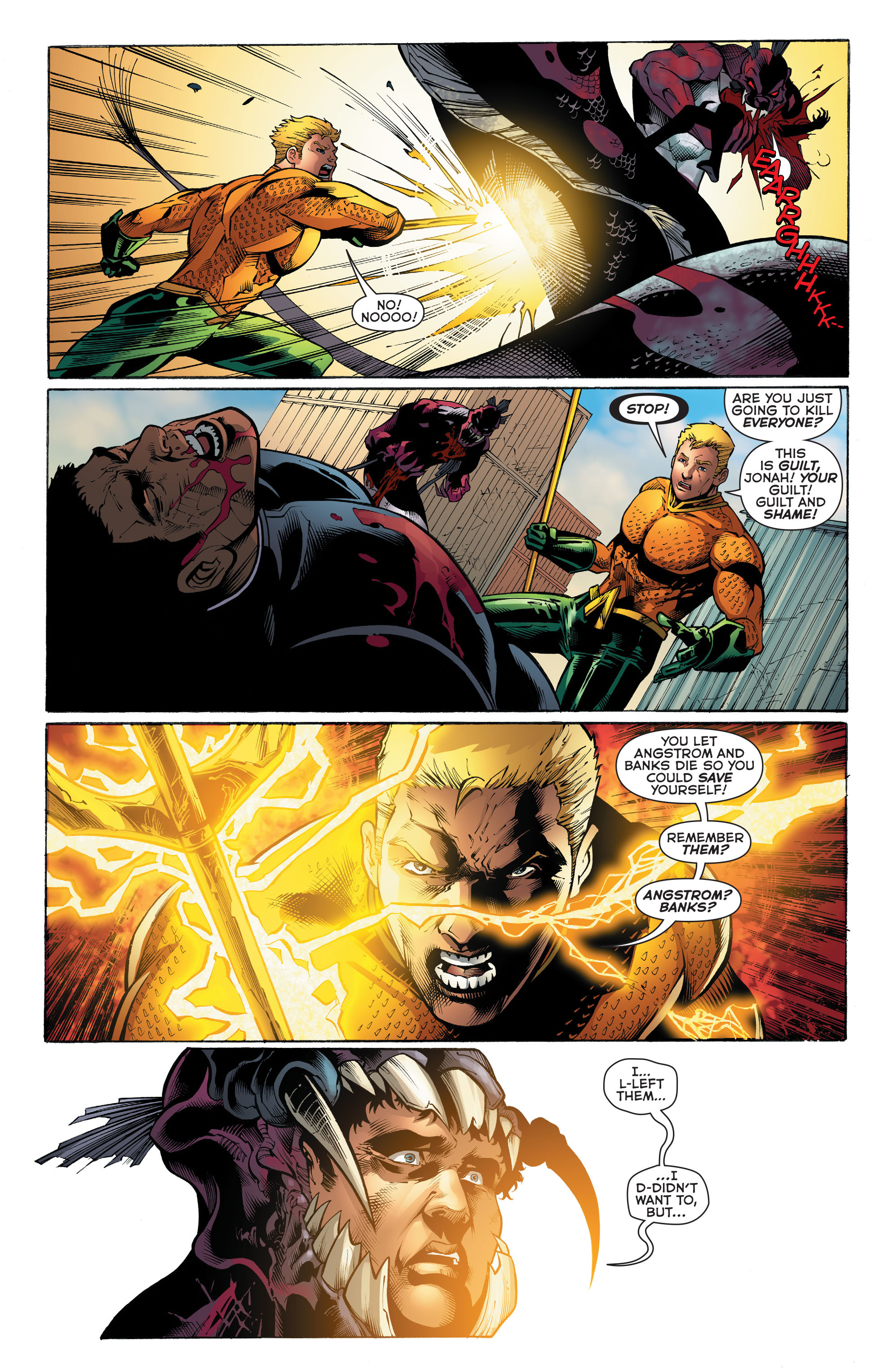 Read online Aquaman (2011) comic -  Issue #52 - 18