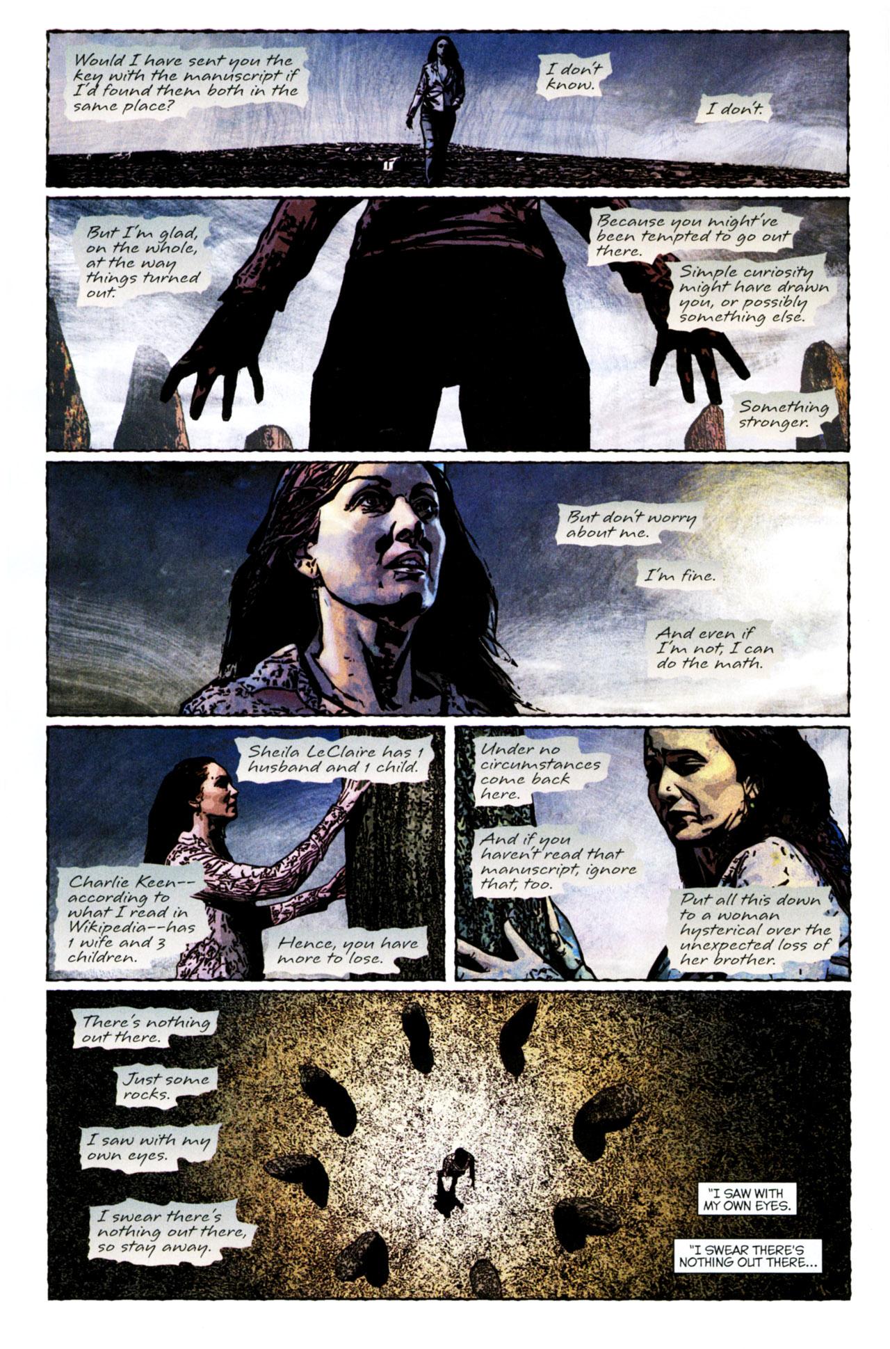 Read online Stephen King's N. comic -  Issue #4 - 8