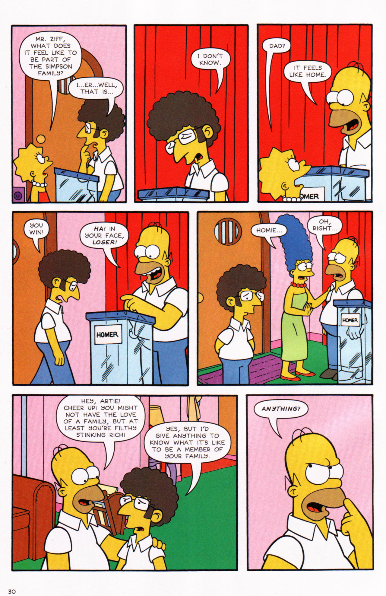 Read online Simpsons Comics comic -  Issue #130 - 25