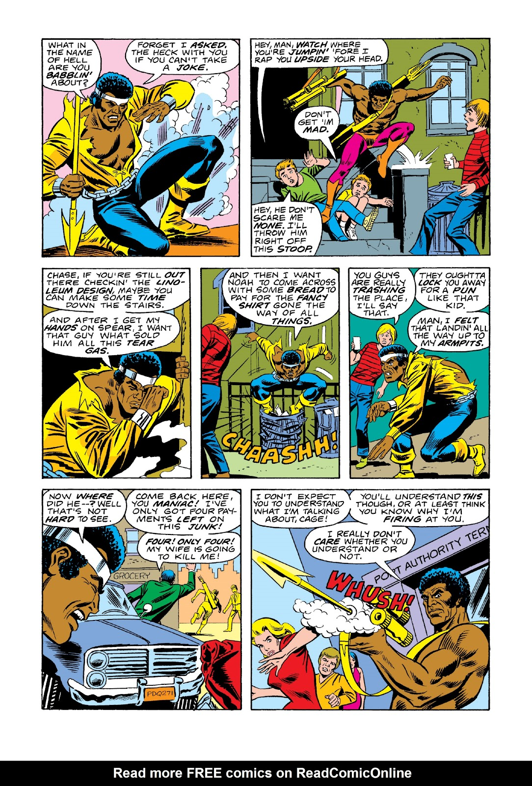 Read online Marvel Masterworks: Luke Cage, Power Man comic -  Issue # TPB 3 (Part 1) - 76