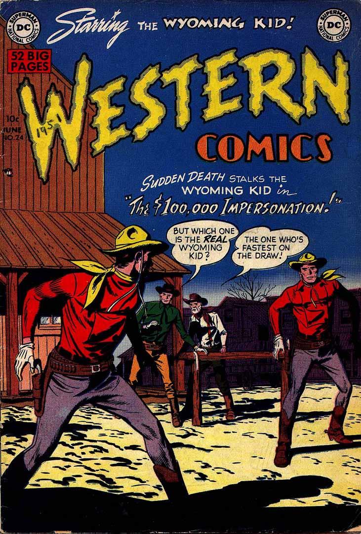 Western Comics 24 Page 1