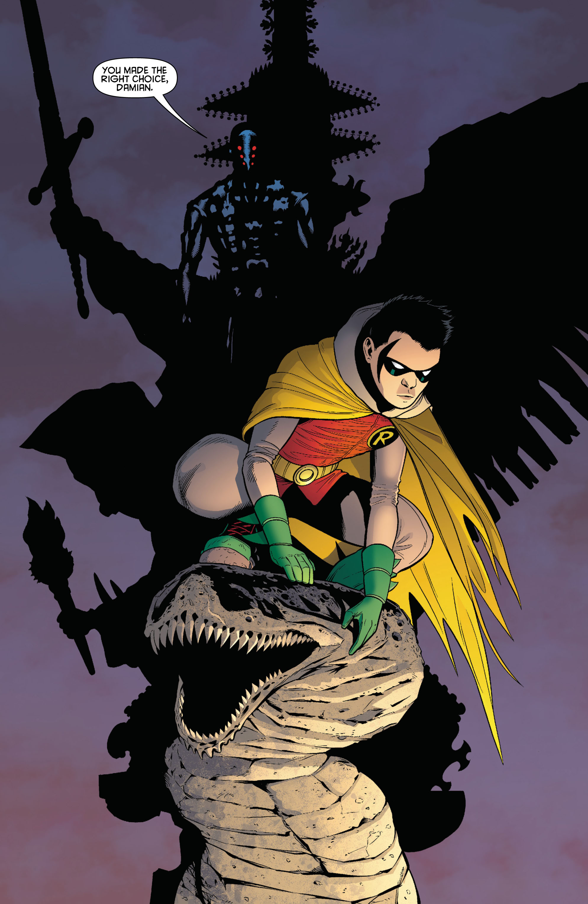 Read online Batman and Robin (2011) comic -  Issue # TPB 1 - 95