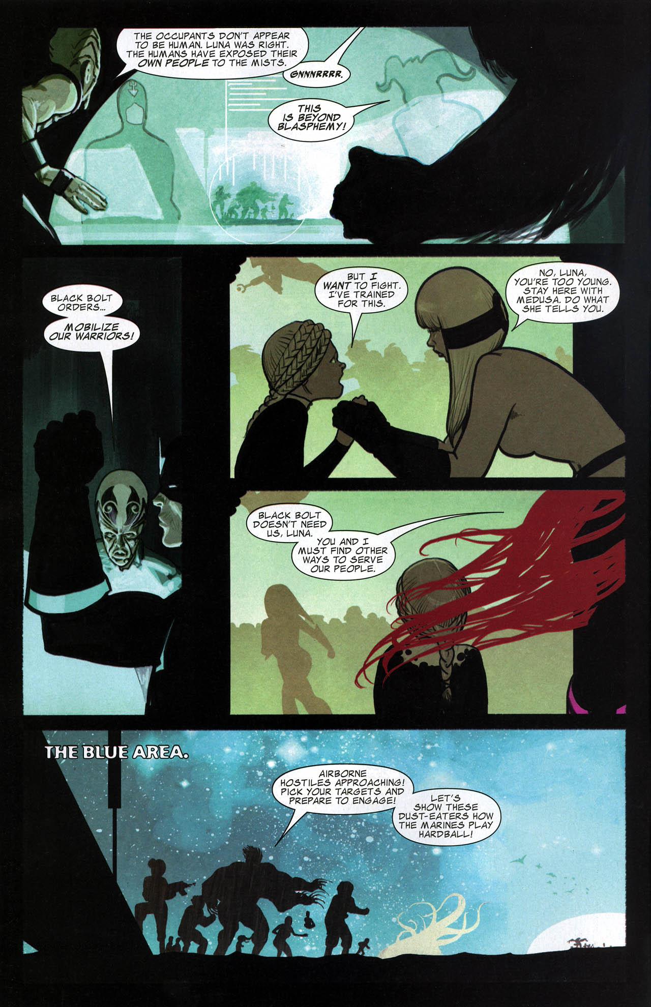 Read online Silent War comic -  Issue #6 - 6