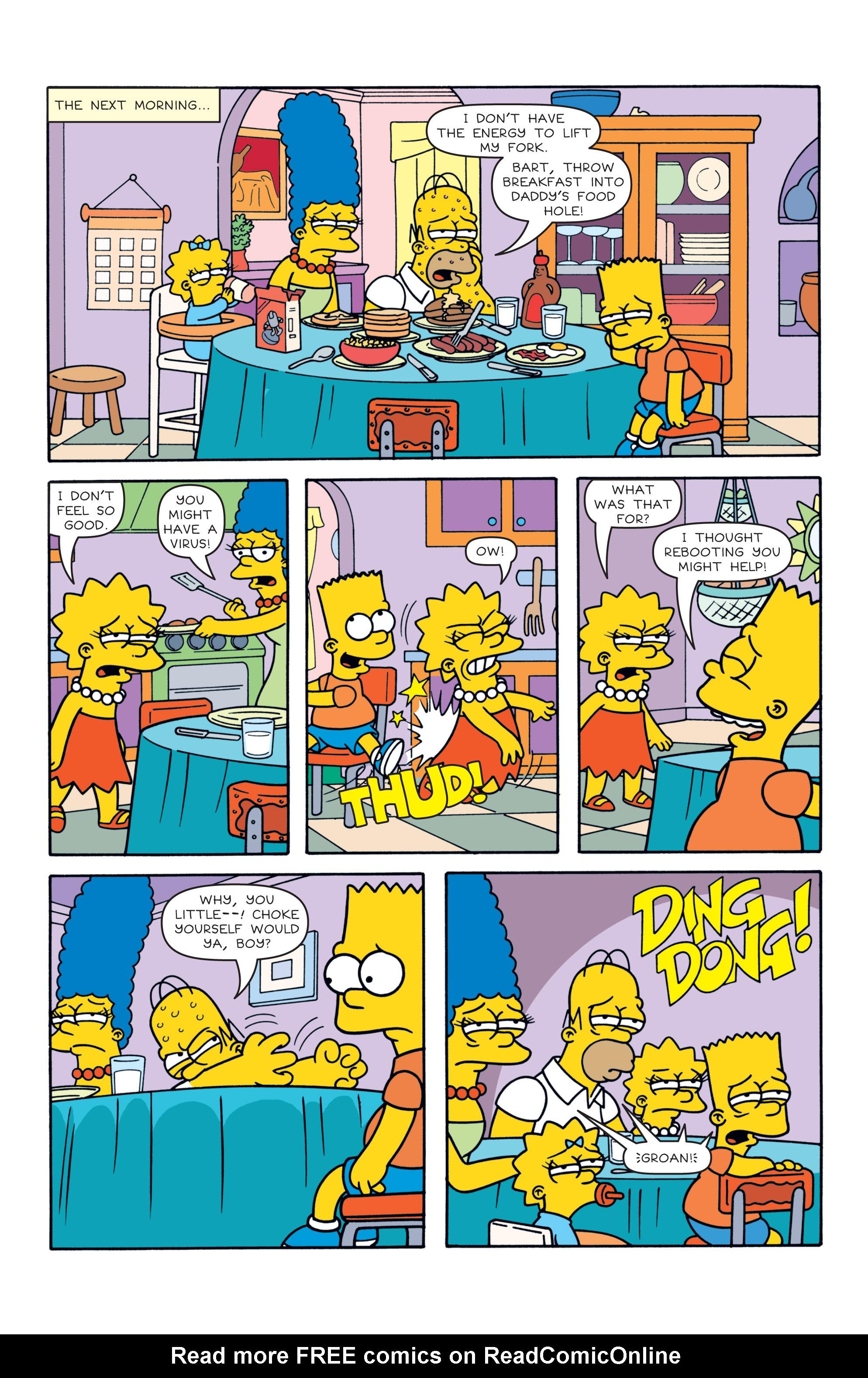 Read online Simpsons Comics comic -  Issue #187 - 20