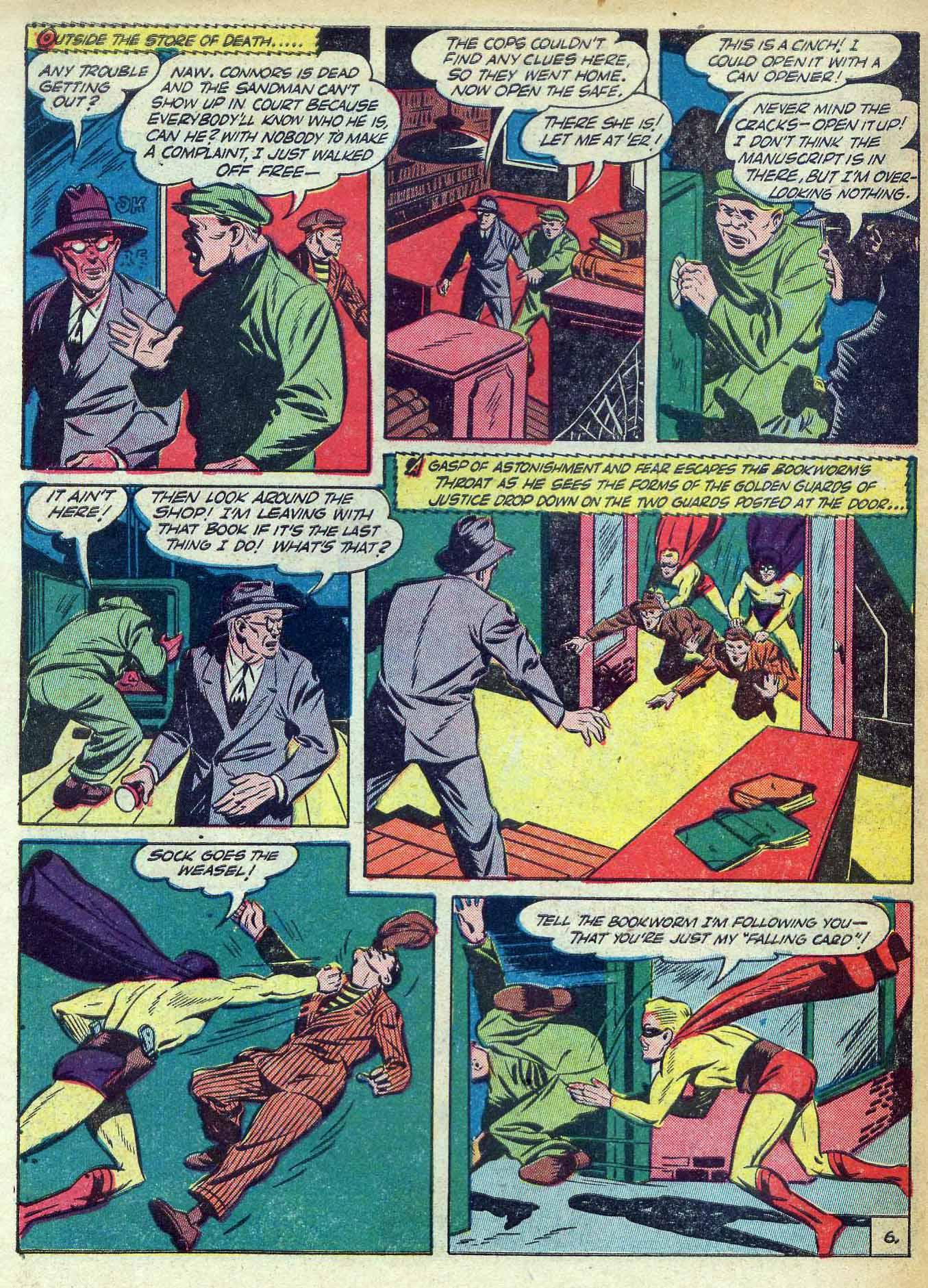 Read online Adventure Comics (1938) comic -  Issue #70 - 64