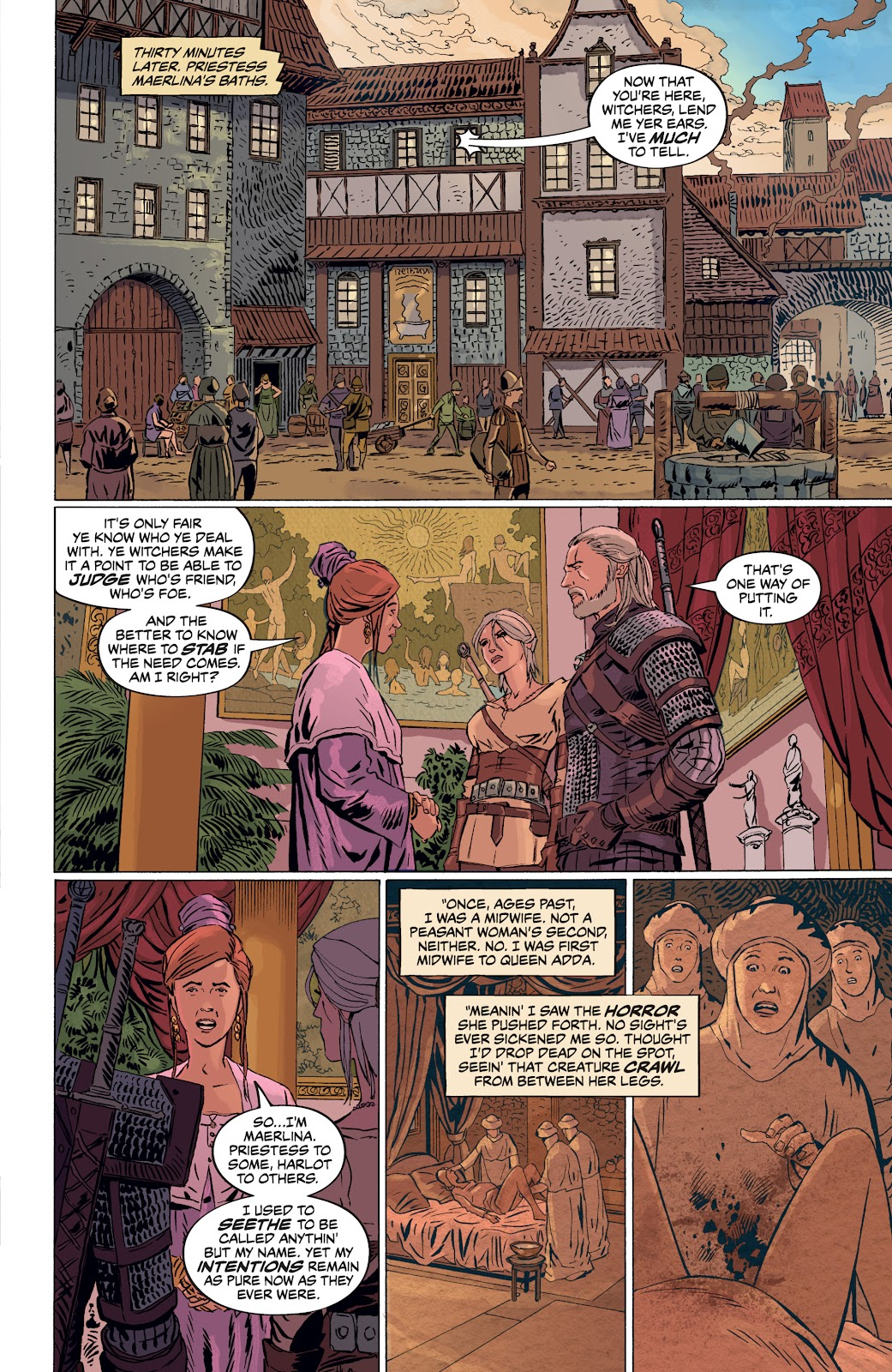 Read online The Witcher Omnibus comic -  Issue # TPB (Part 4) - 36