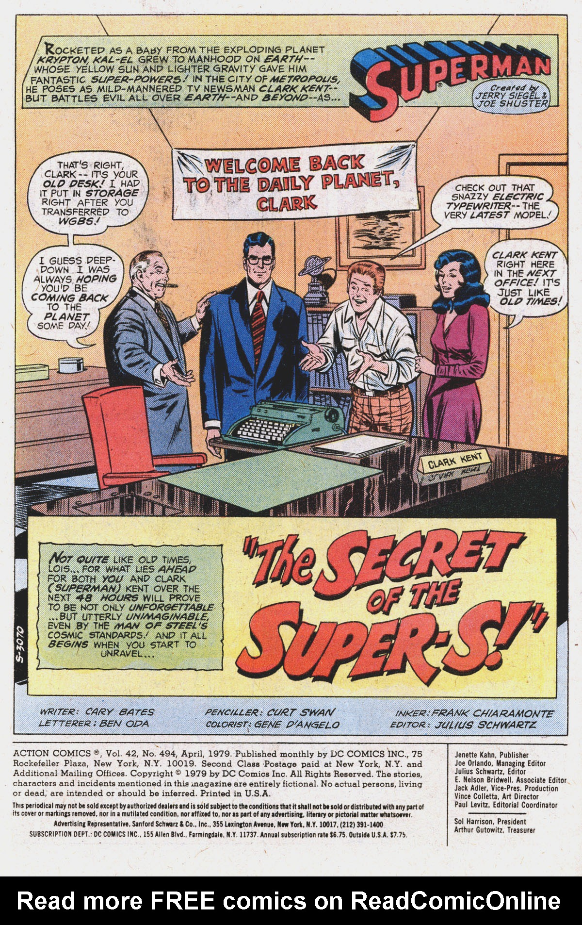 Action Comics (1938) 494 Page 2