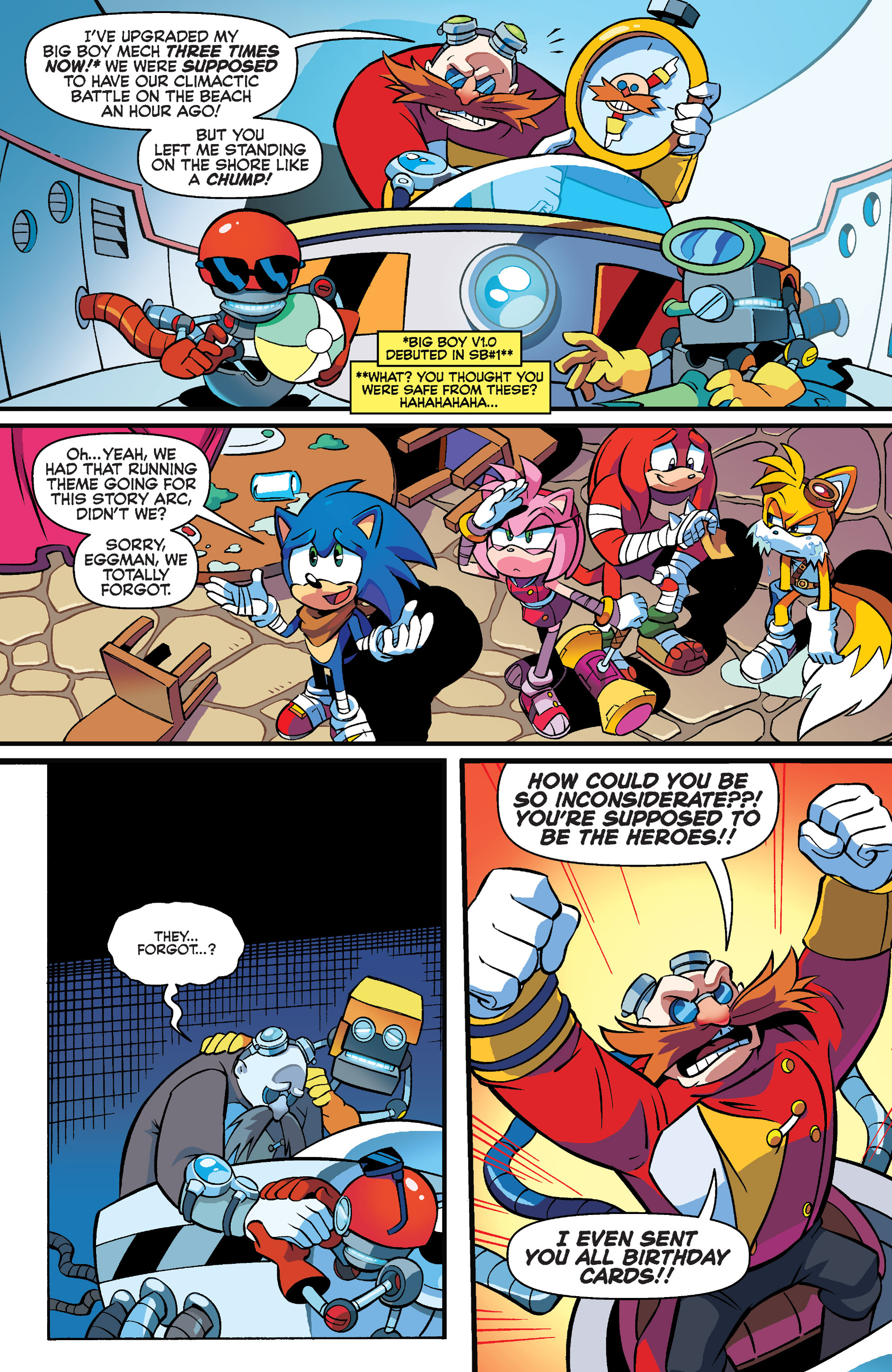 Read online Sonic Boom comic -  Issue #4 - 4