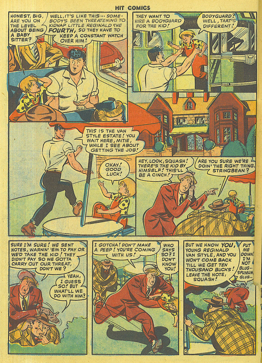 Read online Hit Comics comic -  Issue #56 - 44