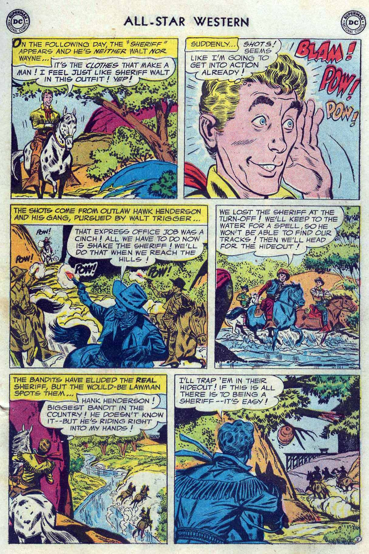 Read online All-Star Western (1951) comic -  Issue #85 - 5