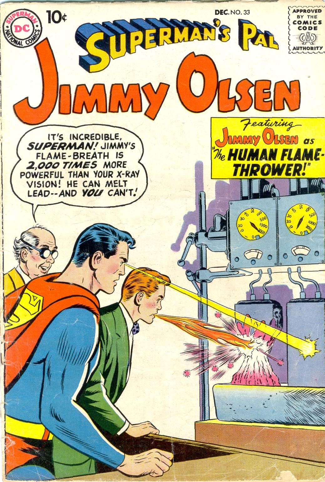 Supermans Pal Jimmy Olsen (1954) 33 Page 1
