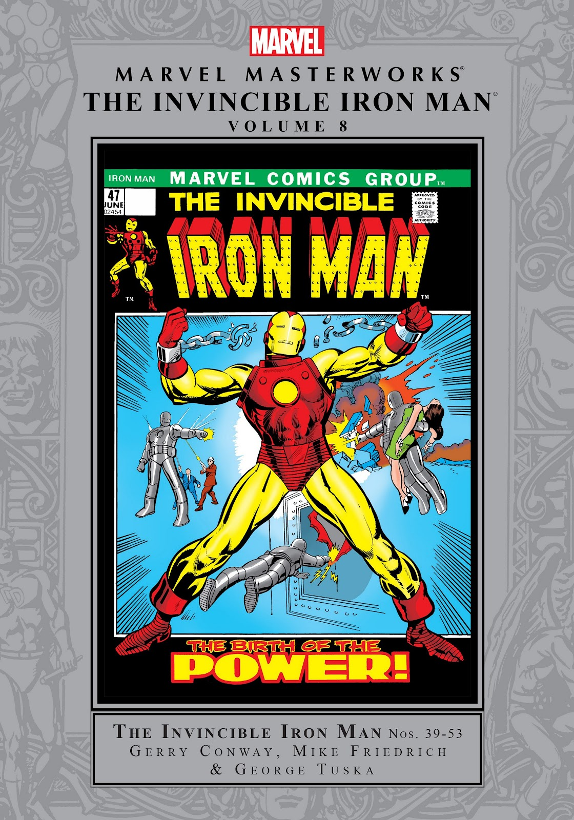Read online Marvel Masterworks: The Invincible Iron Man comic -  Issue # TPB 8 (Part 1) - 1