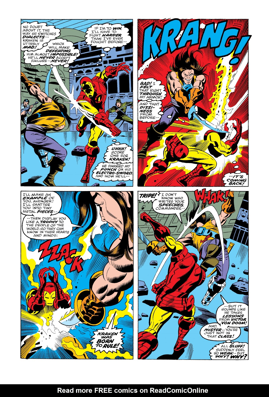 Read online Marvel Masterworks: The Invincible Iron Man comic -  Issue # TPB 11 (Part 3) - 80