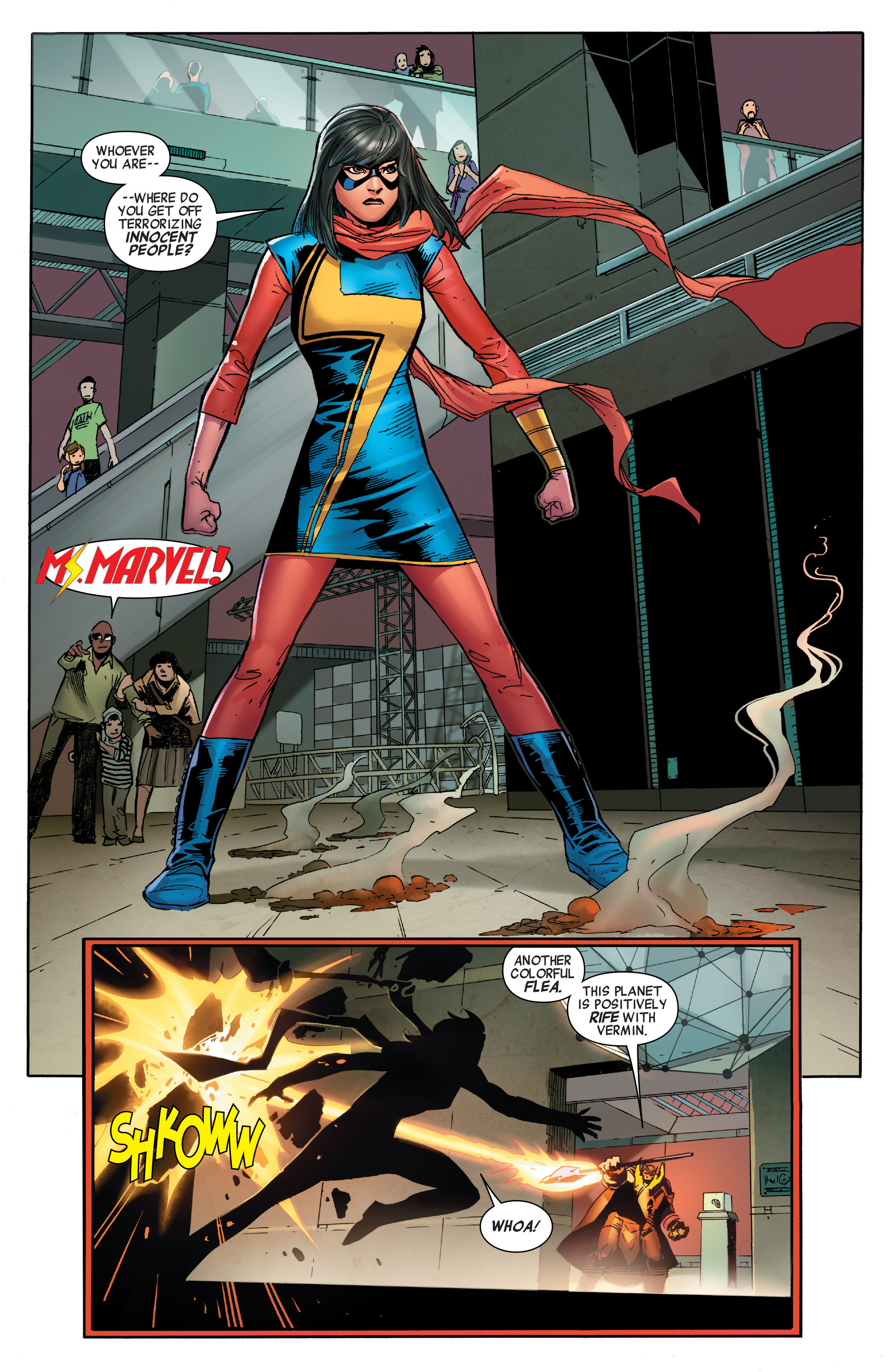 Read online All-New, All-Different Avengers comic -  Issue #2 - 8