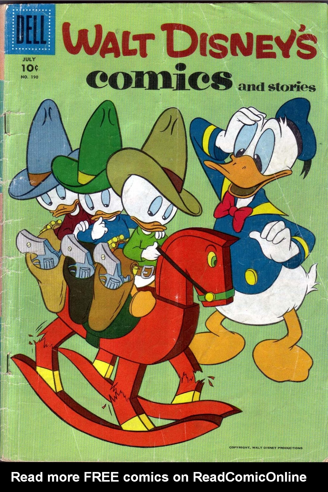 Walt Disney's Comics and Stories issue 190 - Page 1