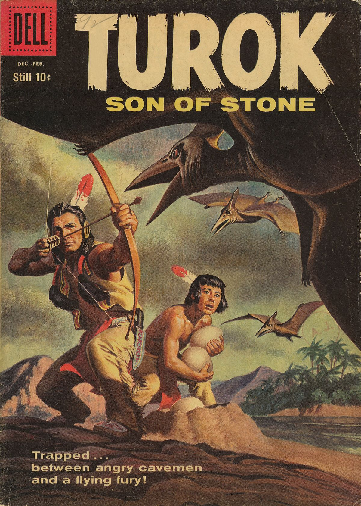 Read online Turok, Son of Stone comic -  Issue #14 - 1