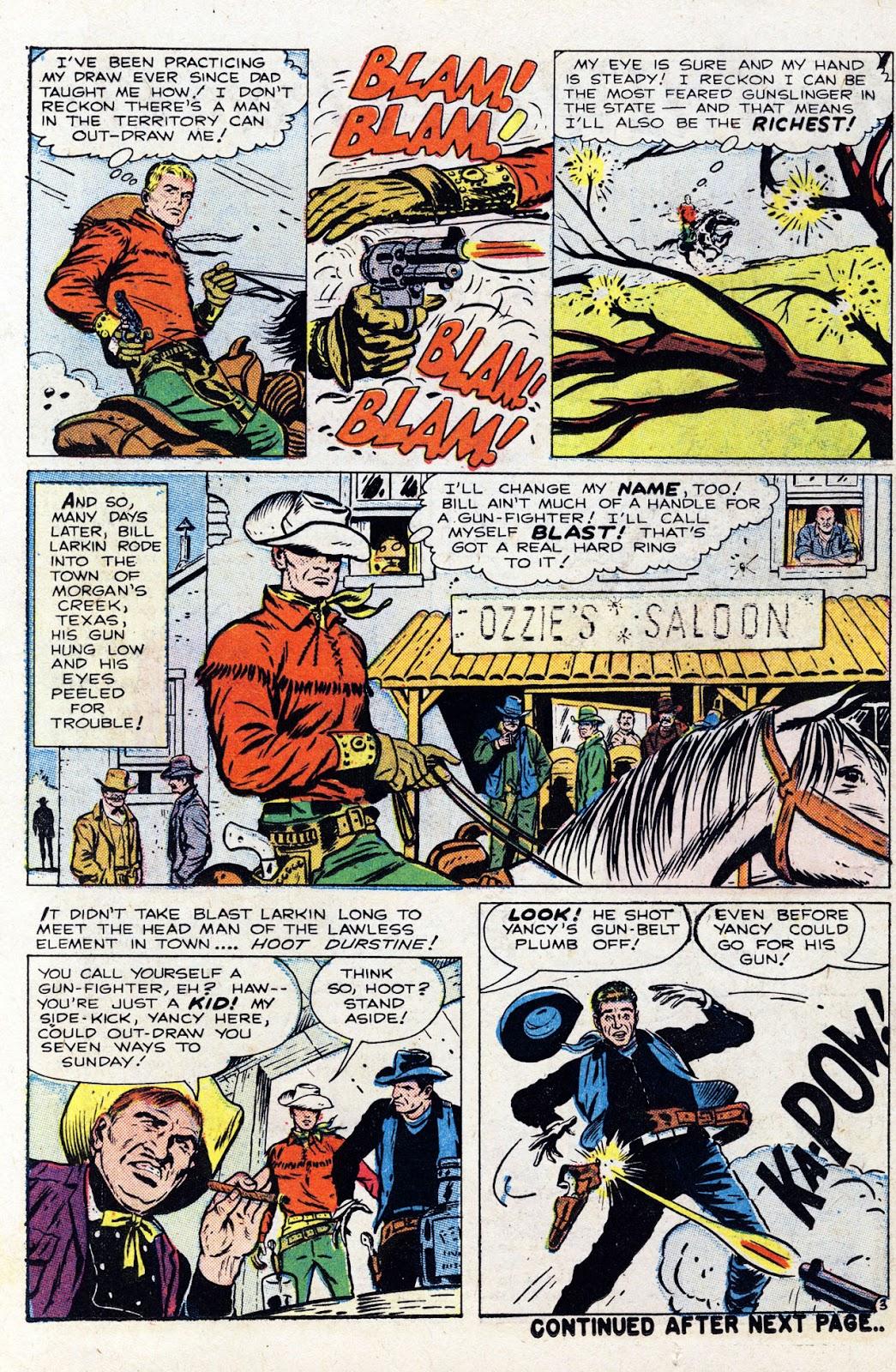 Gunsmoke Western issue 76 - Page 14