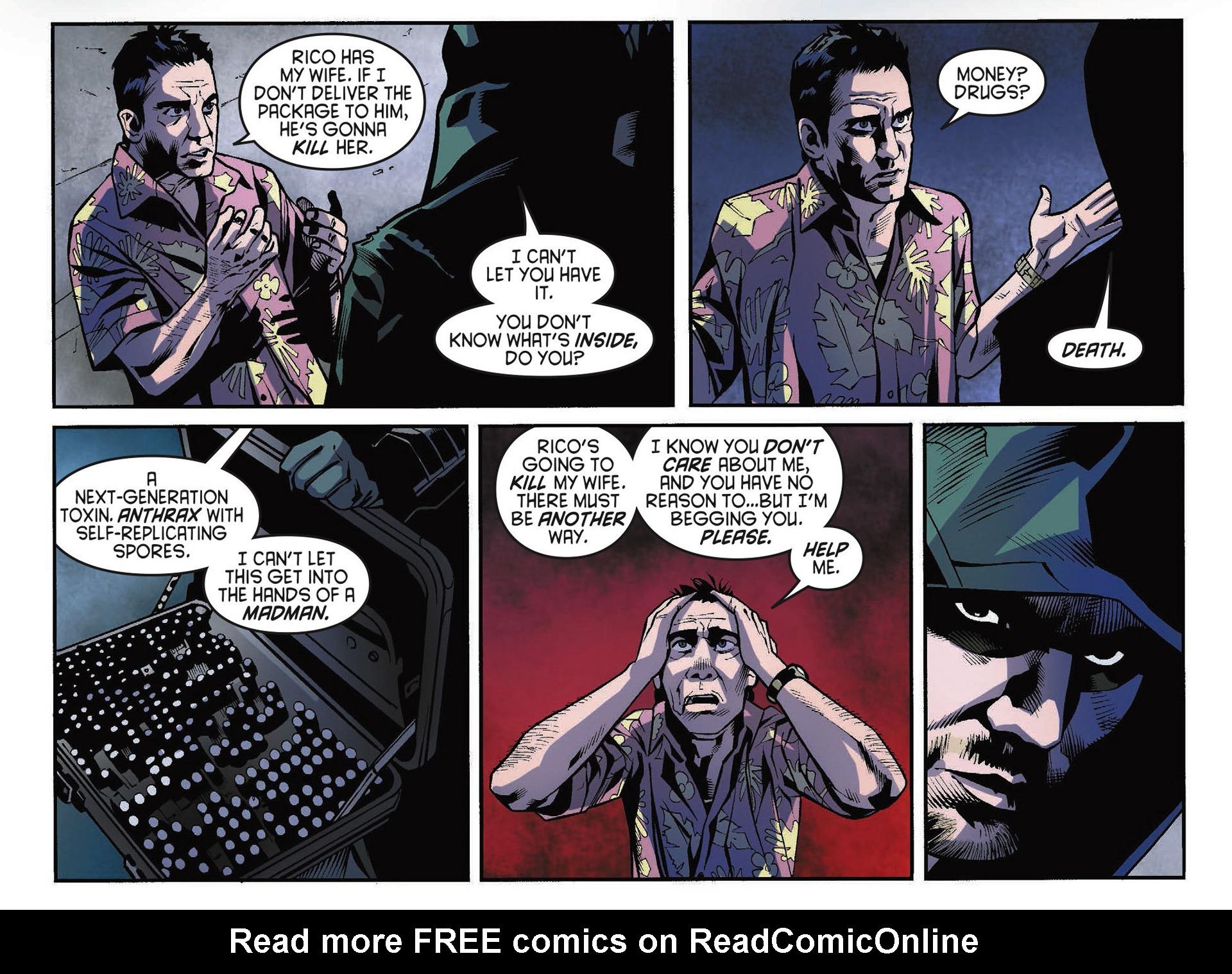 Read online Arrow [II] comic -  Issue #34 - 16
