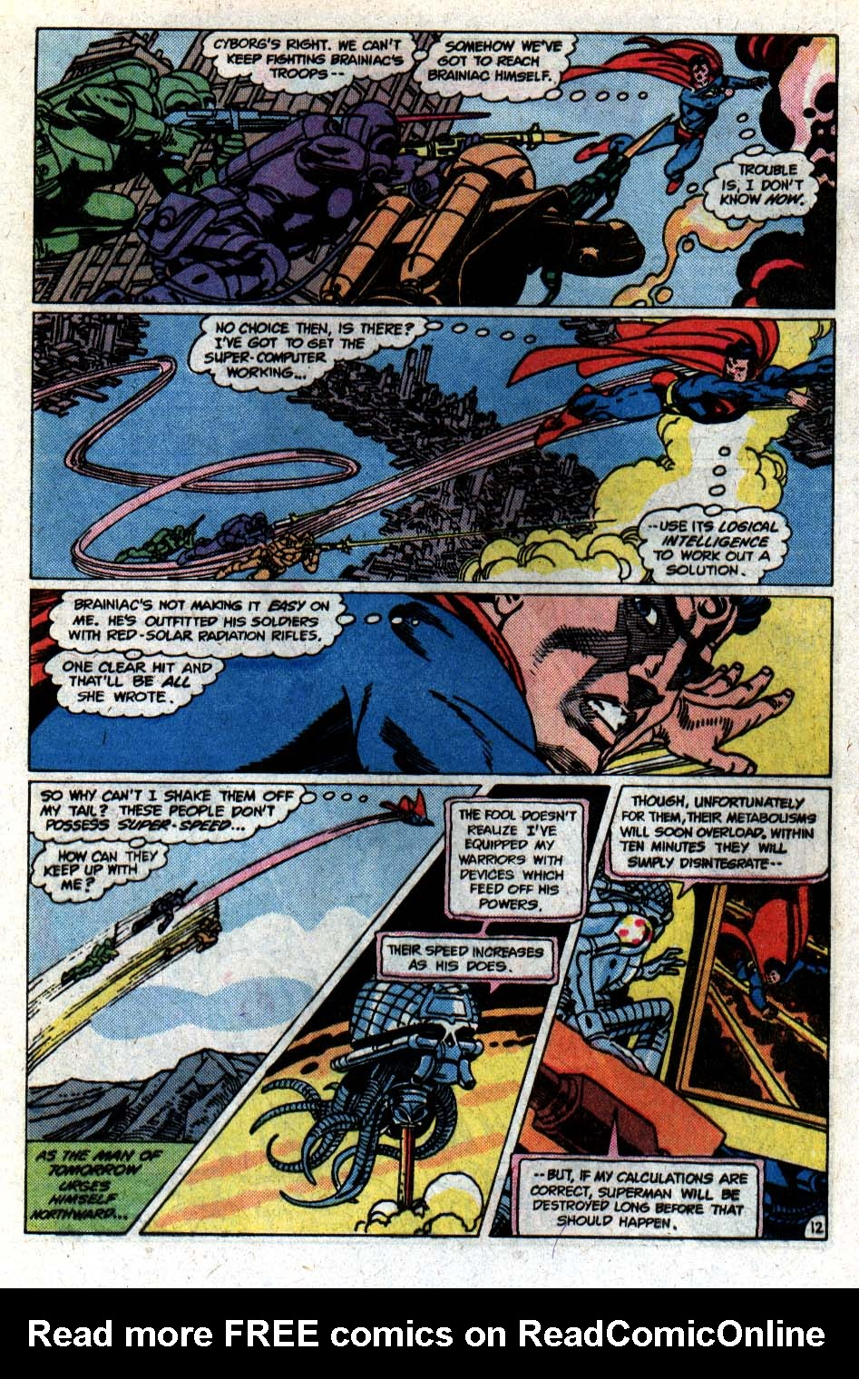 Read online Action Comics (1938) comic -  Issue #546 - 13