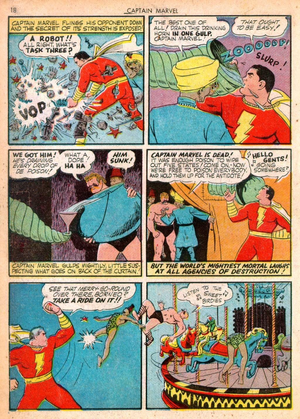 Captain Marvel Adventures issue 10 - Page 18