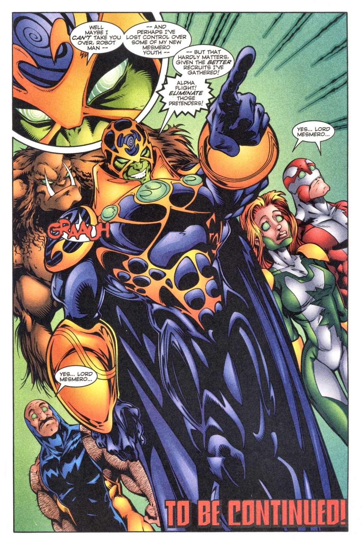 Read online Alpha Flight (1997) comic -  Issue #4 - 25