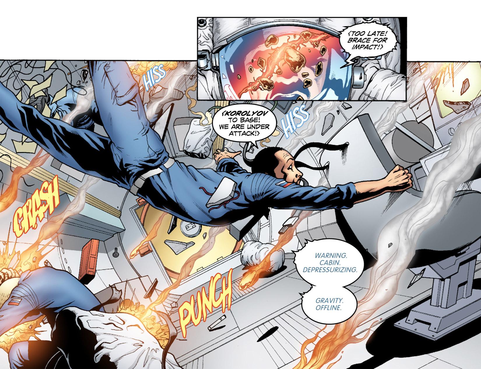 Read online Smallville: Season 11 comic -  Issue #1 - 12