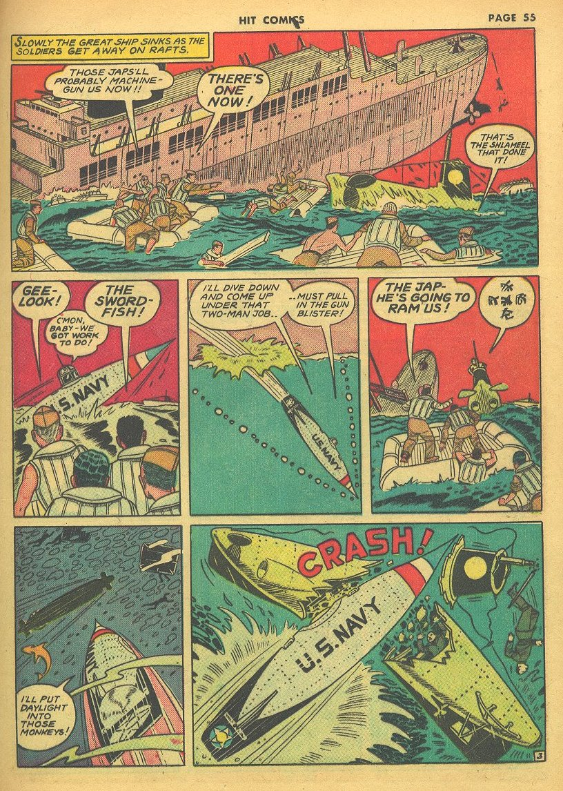 Read online Hit Comics comic -  Issue #24 - 57
