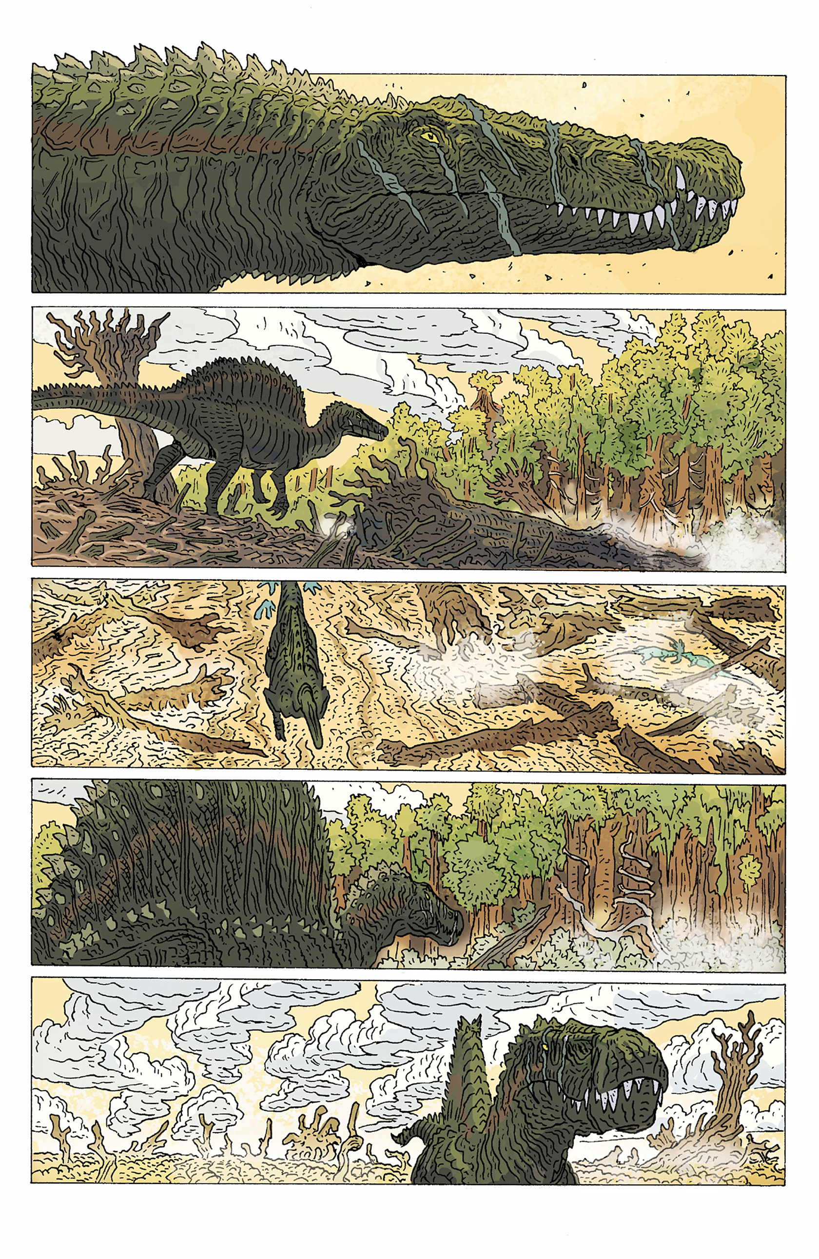 Read online Age of Reptiles: Ancient Egyptians comic -  Issue #1 - 4