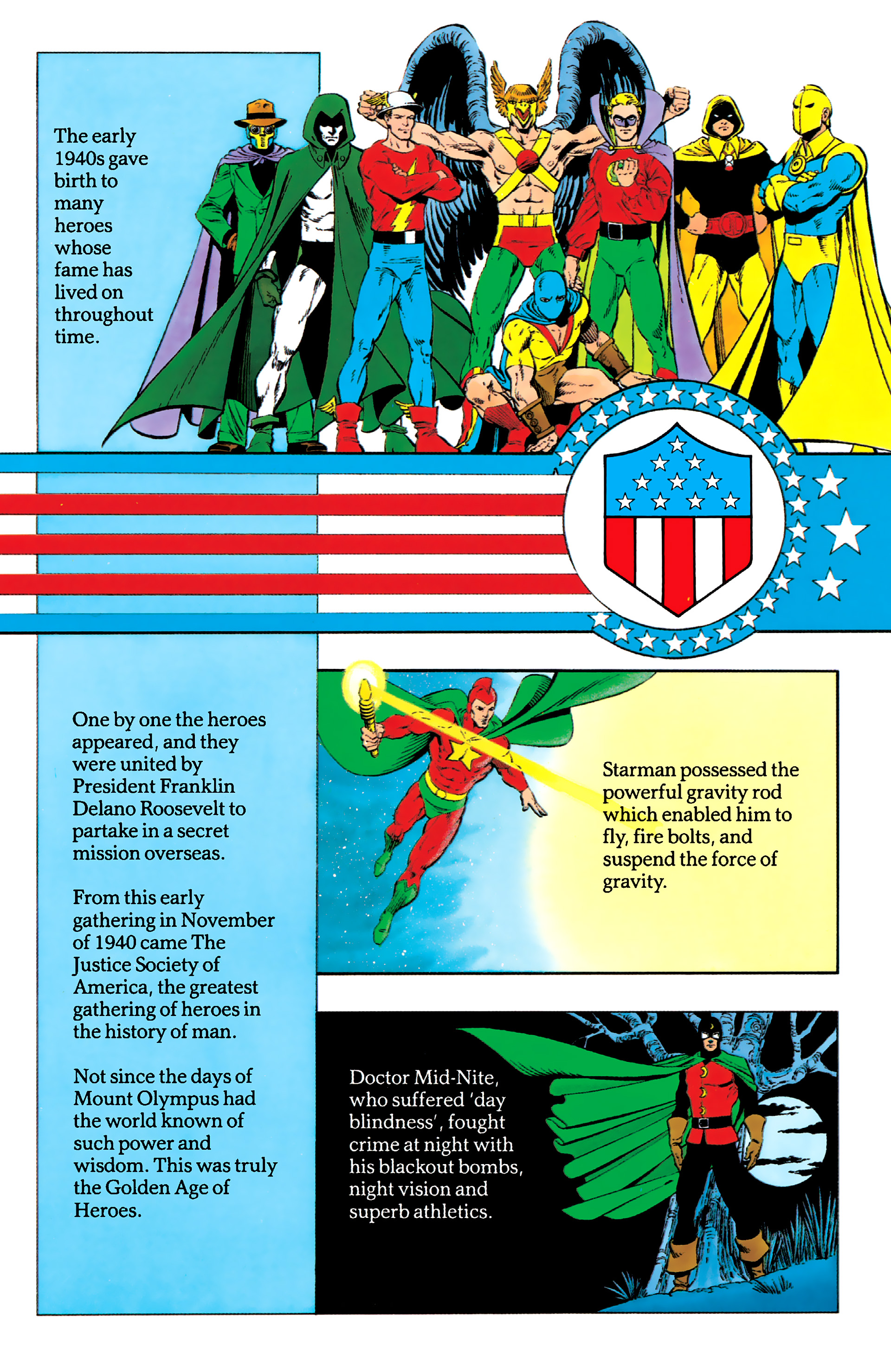 Read online History of the DC Universe comic -  Issue #1 - 38