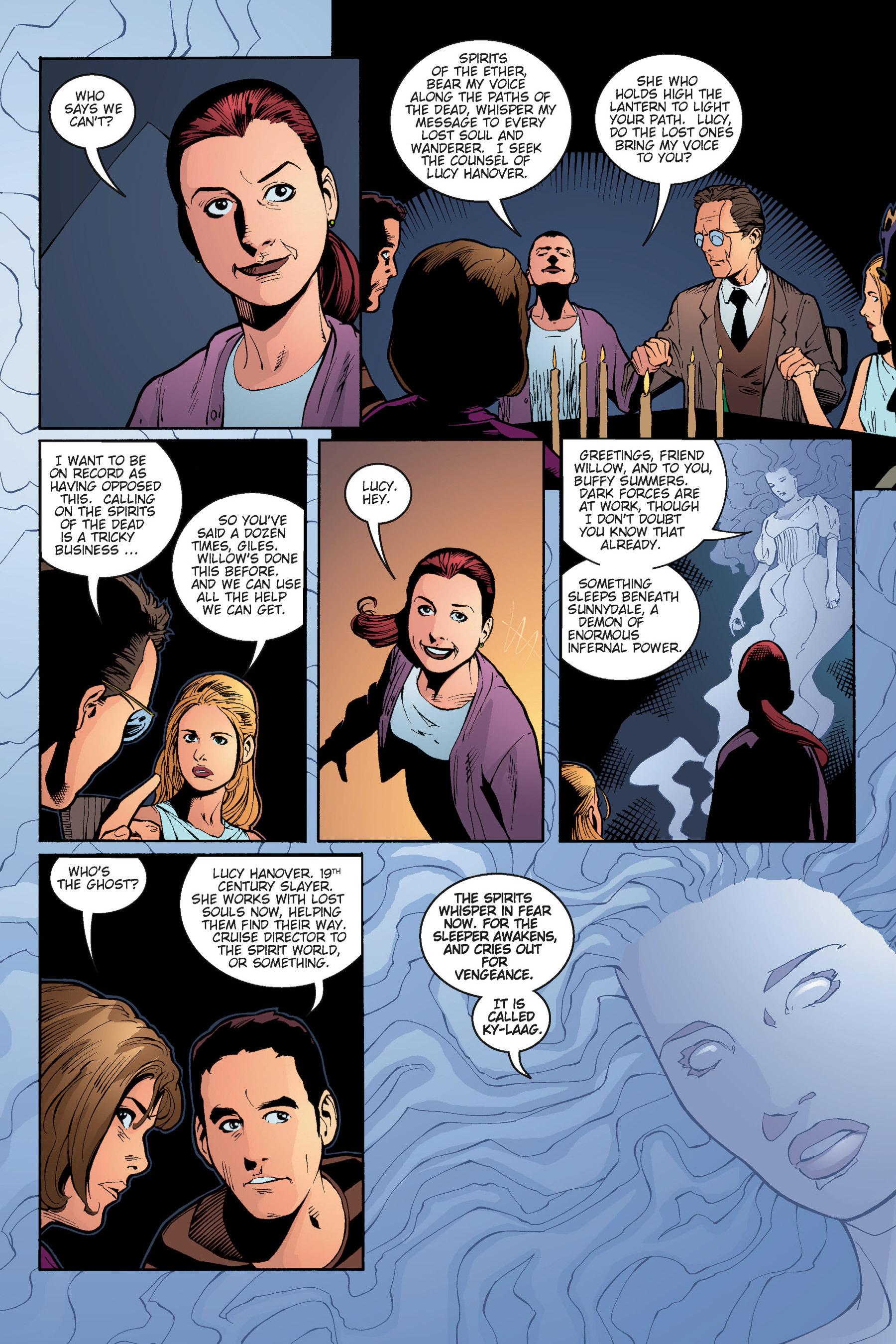 Read online Buffy the Vampire Slayer: Omnibus comic -  Issue # TPB 5 - 160