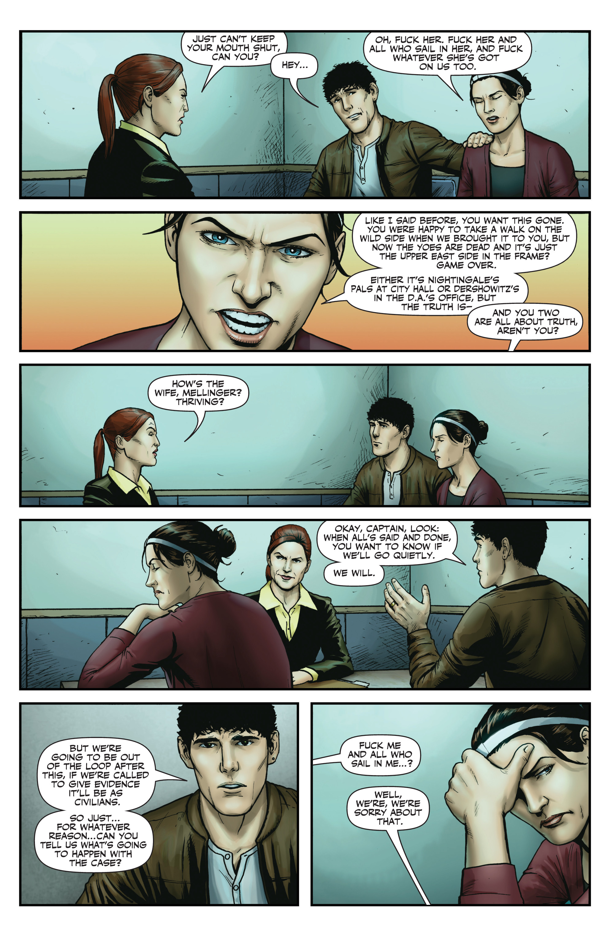 Read online Red Team: Double Tap, Center Mass comic -  Issue #9 - 19