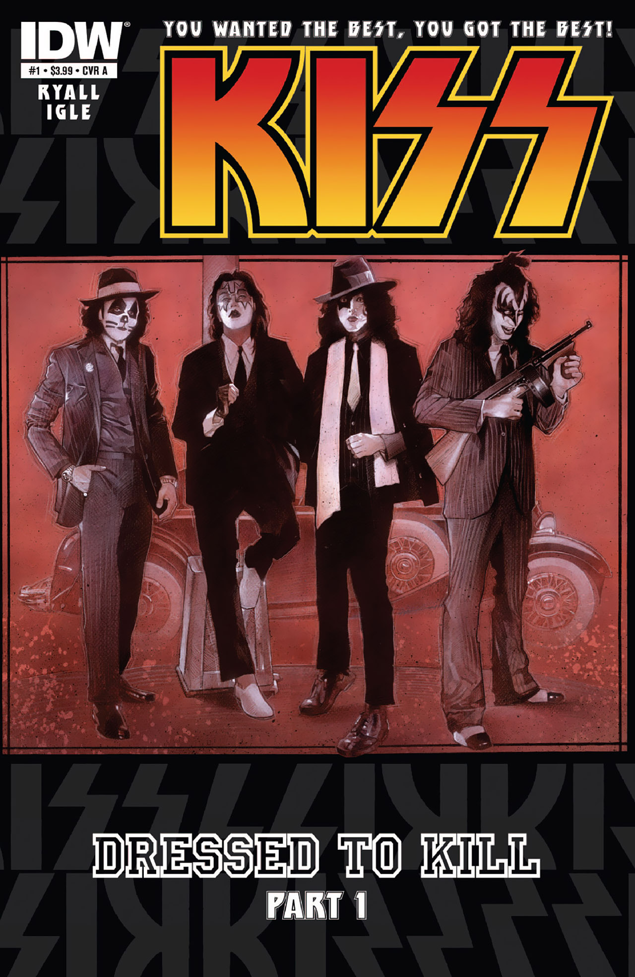 Read online KISS (2012) comic -  Issue #1 - 1