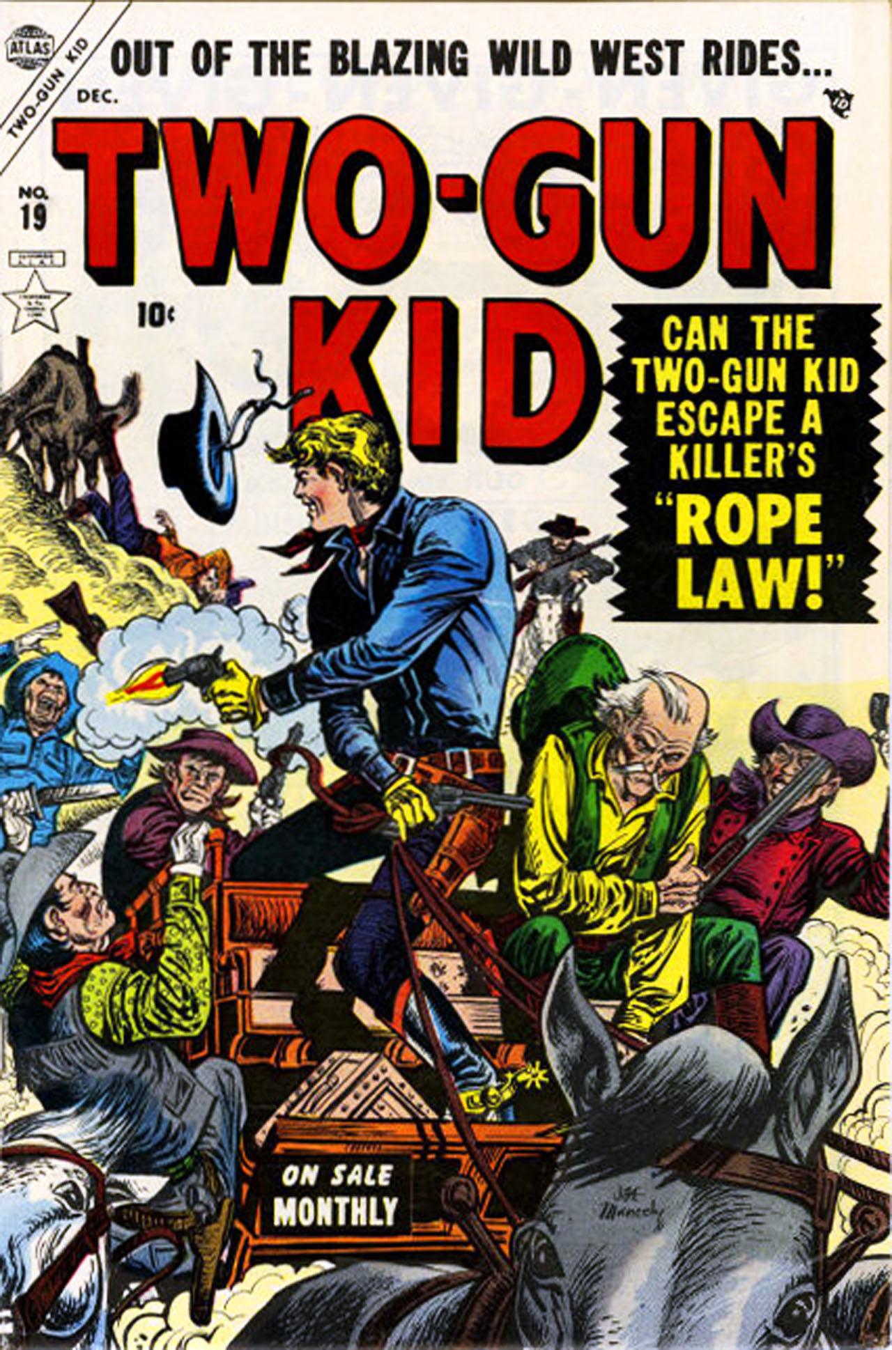 Read online Two-Gun Kid comic -  Issue #19 - 1