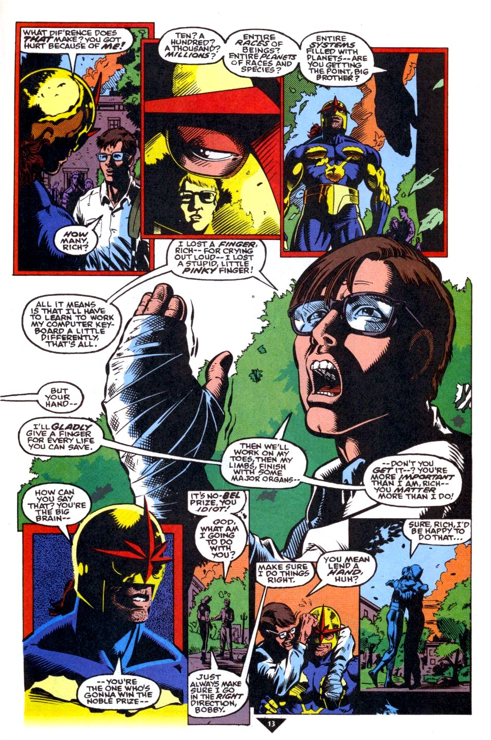 The New Warriors Issue #39 #43 - English 10